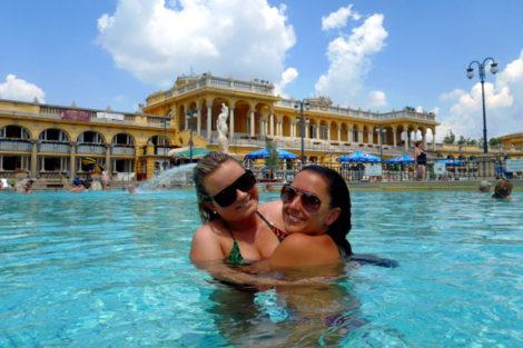 Budapest: Szechenyi Baths