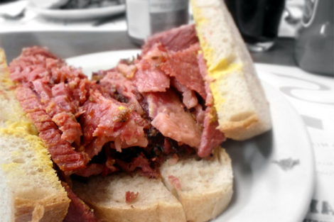 Montreal: Smoked Meat Sandwiches