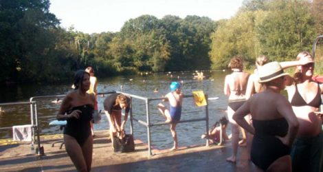 London: Bathing Ponds at Hampstead Heath