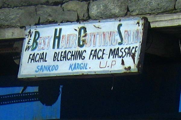 facial bleach