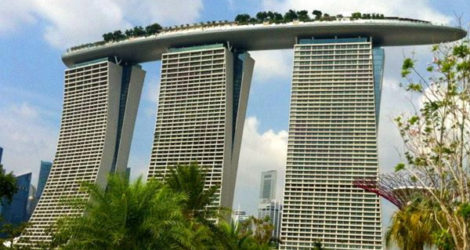 Singapore: Marina Bay Sands Rooftop Bar