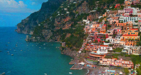 Cliff-Top Feast on the Amalfi Coast