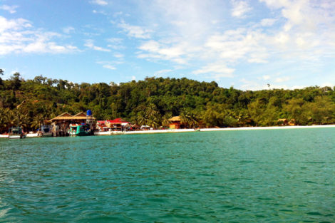 Getting Off The Beaten Track In Koh Rong