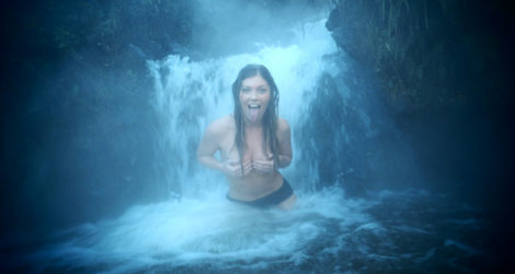 Taupo: Hot Waterfall at Otumuheke Stream