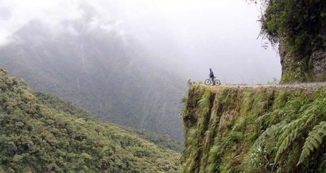 La Paz: Biking Death Road