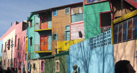 Buenos Aires: See the Coloured Houses at La Boca