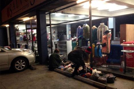 Melbourne: Dumpster Dive at Salvos