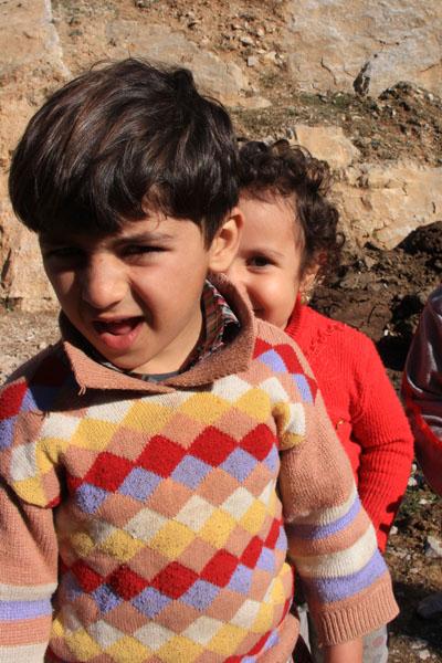 Kurdish kids, Palangan