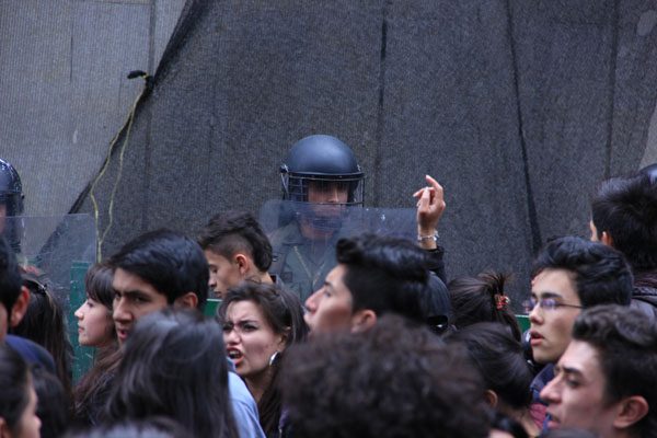 Student protests, Bogota