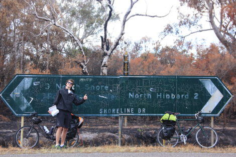 Crossing New South Wales on Two Wheels and Calf Muscles