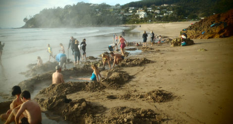 Coromandel: Hot Water Beach