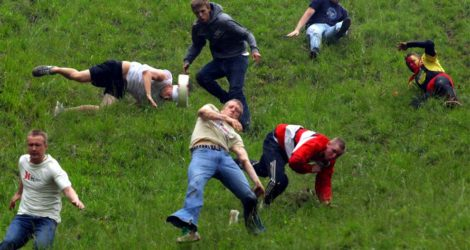 The Great Cheese Rolling Disaster
