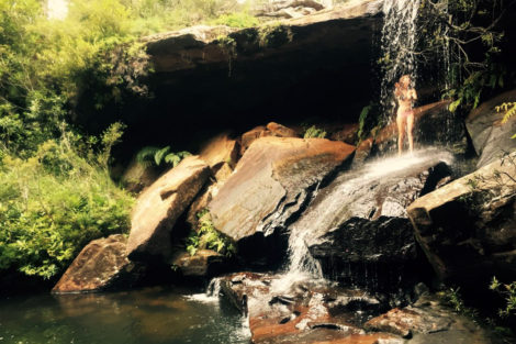 Ku-ring-gai Chase: Upper Gledhill Falls