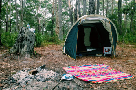 Camp at Meroo National Park