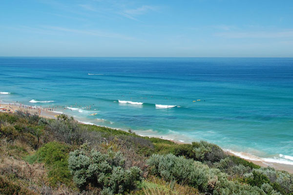 portsea back beach waves