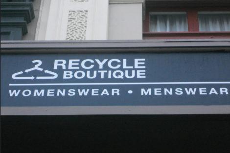 Wellington: Thrift Shopping
