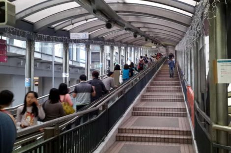 Hong Kong: Mid-Level Escalators