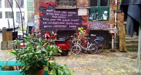 The Dull Irony of a Hamburg Artist Squat