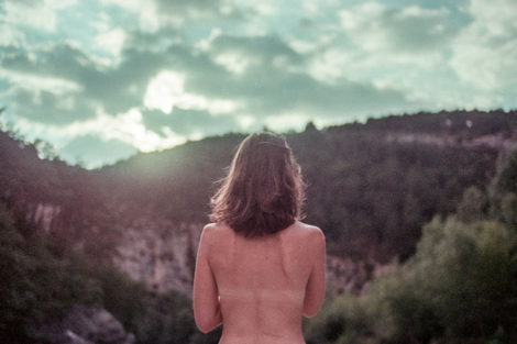 Nude and Alone in Lamington National Park