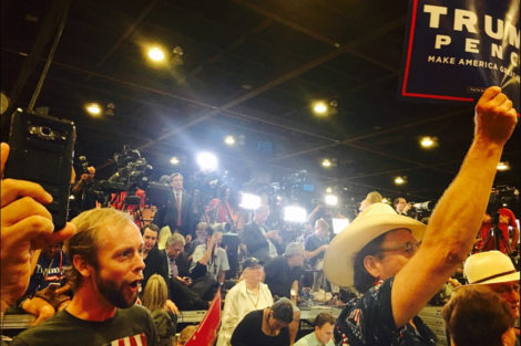 An Australian Went to a Trump Rally and Here's What Happened