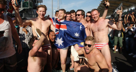 Aussies Abroad, Shame On You (Again)