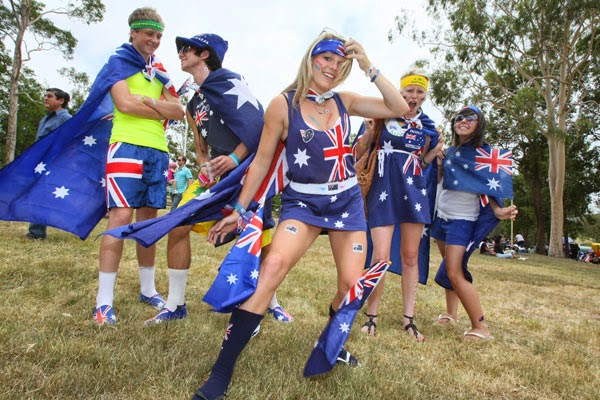 Happy Australia Day 2017 Greetings Cards