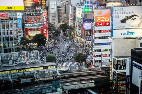 Riding the Neon Waves of Anxiety in Tokyo