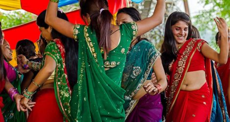 The Beauty of the Nepalese Dance