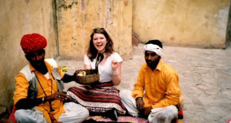 I Went to India to Find Myself and Discovered That I'm a Huge Pile of Trash