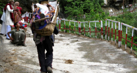 When a Tourist Hikes a Sacred Indian Pilgrimage