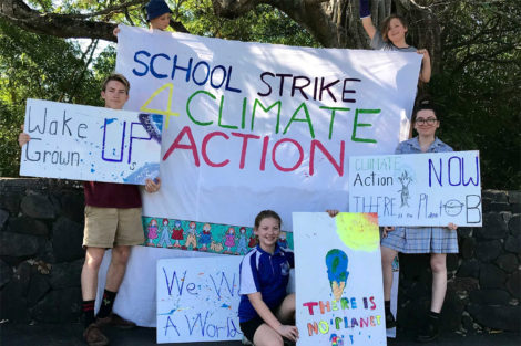An Open Letter to the School Students on Strike