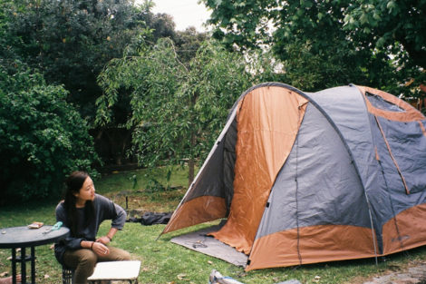 The Hobo Guide to Living in a Tent in Your Mate's Backyard
